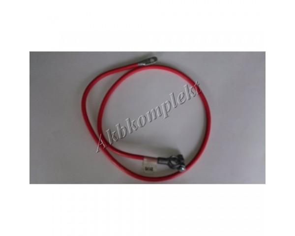 Провод с клеммой 4G красный Deka 04150
