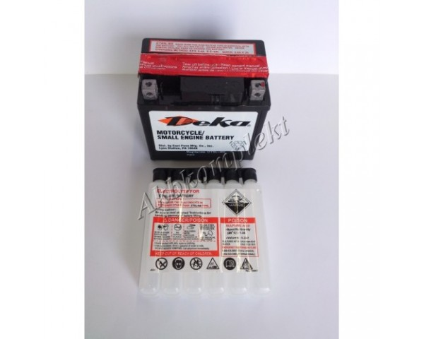 Мото аккумулятор Deka CTZ7S-BS (AGM) (YTZ7S-BS)