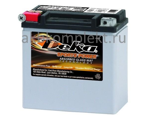 Мото аккумулятор Deka ETX14 (AGM) (YTX14 , 65948-00)