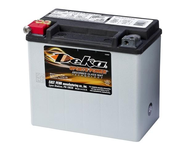 Мото аккумулятор Deka ETX16 (AGM) (YB16-B, Y60-N24-A)