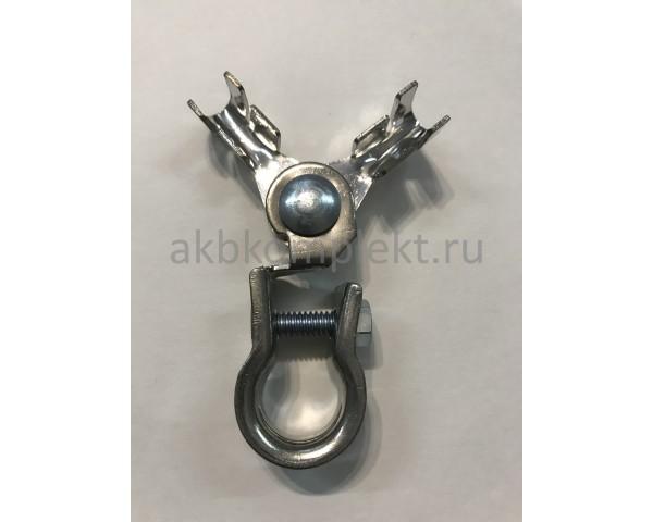 Клемма для легковых автомобилей универсальная (+-) Deka 05512