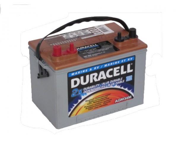 Аккумулятор DURACELL AGM34M