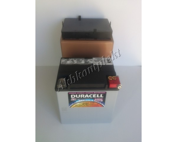 Мото аккумулятор Duracell DTX30LA (AGM)