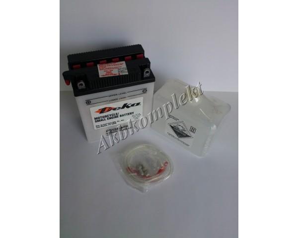 Мото аккумулятор Deka CB12A-AFP (YB12A-A)