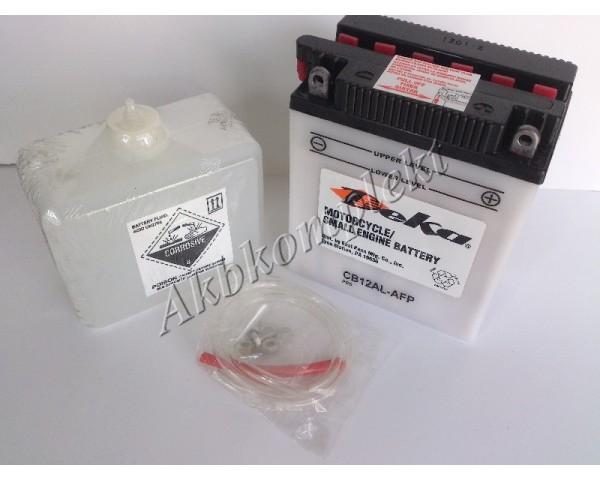 Мото аккумулятор Deka CB12AL-AFP (YB12AL-A, YB12AL-A2)