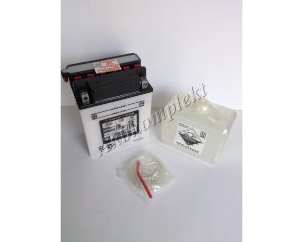 Мото аккумулятор Deka CB14A-A2FP (YB14A-A2)