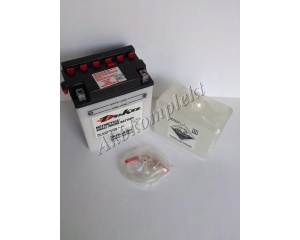Мото аккумулятор Deka CB14L-A2FP (YB14L-A2)