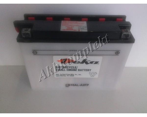 Мото аккумулятор Deka CB16AL-A2FP (YB16AL-A2)