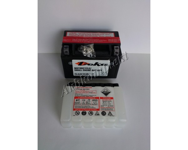 Мото аккумулятор Deka CTX9-BS (AGM) (YTX9-BS)