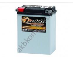 Мото аккумулятор Deka ETX15 (AGM) (YB-14-B2, YB14A-A1, YB14A-A2)