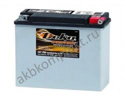 Мото аккумулятор Deka ETX18L (AGM) (YIX50L-BS, Y50-N18L-A, Y50-N18L-A3)