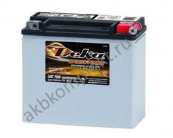 Мото аккумулятор Deka ETX20L (AGM) (YTX20L-BS, YB18L-A, 65989-97B, 6598997C)