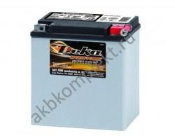 Мото аккумулятор Deka ETX30LA (AGM)
