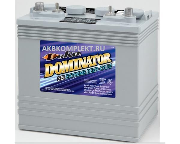 Гелевый аккумулятор Deka 8G8VGC (GEL) (8 Вольт)