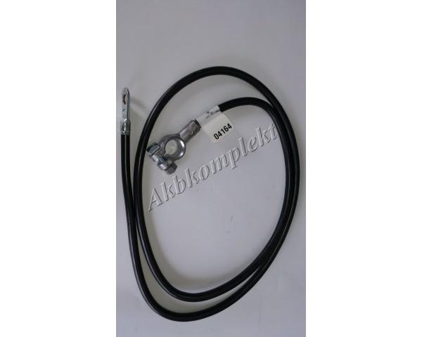 Провод с клеммой 4G черный Deka 04164