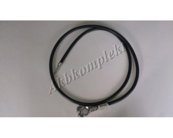 Провод с клеммой 4G черный Deka 04165